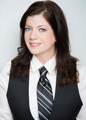 Christian Marie (bof352000) Tags: woman tie necktie suit shirt fashion businesswoman elegance class strict femme cravate costume chemise mode affaire
