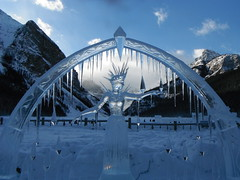 Happy New Years (Mr. Happy Face - Peace :)) Tags: banff lakelouise snow albertabound canada international ice sculpture outdoors cans2s archives edit art2020 nwn
