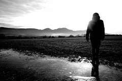 Mother Nature's Son (stefankamert) Tags: mothernaturesson nature people landscape noir noiretblanc light mountains ice sky blackandwhite blackwhite bw ricoh ricohgriii griii wideangle silhouette stefankamert beatles