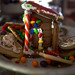 New Years Eve Gingerbread House