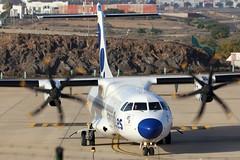 EC-JEV_11 (GH@BHD) Tags: ecjev atr72 atr72500 canaryfly arrecifeairport lanzarote cnf ace gcrr arrecife turboprop propliner aircraft aviation airliner
