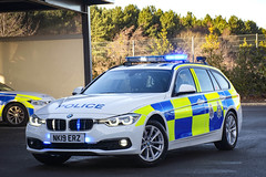 NK19 ERZ (S11 AUN) Tags: cleveland police bmw 330d 3series touring anpr traffic car roads policing rpu 999 emergency vehicle nk19erz