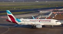 Eurowings, D-AEWM, MSN 7259, Airbus A 320-214 SL, 27.12.2019,  DUS-EDDL, Düsseldorf(Boomerang Club livery) (henryk.konrad) Tags: eurowings daewm msn7259 airbus a320 320214sl duseddl düsseldorf henrykkonrad boomerangclublivery
