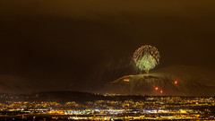 New year 2020 (Toftus Photography) Tags: kvaløysletta troms norway tromsø no norge nordnorge northernnorway cityscape farve color canon eos 5d mark iv himmel skyer sky clouds fireworks fyrverkeri nyttår nyt år new year arcticlight arctic