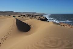 Sand dunes in Morocco (2) (EvenHarbo) Tags: nikond7100 nikon moroc morocco marokko sagavoll sagavollfolkehøgskole sand sanddunes desert sea landscape tamri tamrinationalpark nature nationalpark nasjonalpark