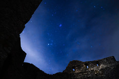 I was shooting for the stars (Nathalie_Désirée) Tags: star stars starlight building wreck ruin stone stones stonewall wall brick window windows reusenstein badenwürttemberg badenwuerttemberg night nature outdoors winter cloud cloudy clouds fog foggy evening darkness wild freedom wilderness natural beauty sonyαmo sonyalpha7rii sonyalpha7r2 sony28mmf20 sky starlit architecture medieval knight knights germany europe culture cultural history historic spooky mystery mysterious legend legendary phantom bedtimestory monument castle ruined ruines ruinedcastle schwabeländle swabianalb schwäbischealb reussenstein neidlingertal