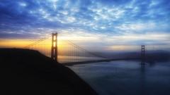 Happy New Year (Gunn Shots (On and off these days)) Tags: 2020 newyear sunrise happynewyear happynewyear2020 goldengate goldengatebridge sanfrancisco marinheadlands