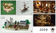 2019 Recap (Barthezz Brick) Tags: 2019 review recap lego legos moc afol year