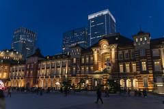 Tokyo Station (MSM_K_JP) Tags: sony a6500 sel18135 tokyo japan chiyodaku night evening tokyostation