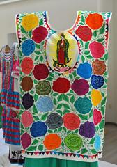 Huipil Mazatec Soyaltepec Oaxaca Mexico (Teyacapan) Tags: mazatec soyaltepec oaxaca mexican textiles museo guadalupe embroidery ropa clothing
