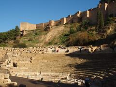 Teatro Romnao (II) (rgrant_97) Tags: málaga andalucia spain españa monumentos alcazaba