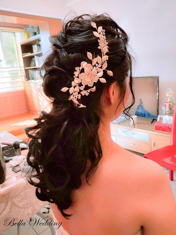 嘉義新秘,新秘,白紗宴客造型 韓系浪漫長髮,韓系新娘妝感,經國新城