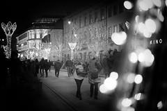 kino/cinema (margycrane) Tags: kino cinema walk street whitestreet photo light monochrome christmas nowyświat warsaw warszawa sonyilce7m3 fe55mmf18za