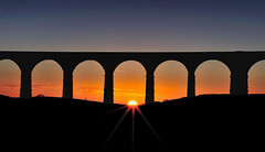 Goodbye 2019 (images@twiston) Tags: ribblehead viaduct silhouette arches arch shadow sunset orange settle carlisle yorkshire northyorkshire midland railway main line battymoss ribblesdale dales yorkshiredales nationalpark moorland moor landscape imagestwiston nisi nisifilters gnd neutraldensity grad