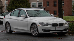 BMW 3-Series (mlokren) Tags: car spotting photo photography photos pic picture pics pictures pacific northwest pnw pacnw oregon usa vehicle vehicles vehicular automobile automobiles automotive transportation outdoor outdoors 2019 bmw 3series sedan white f30