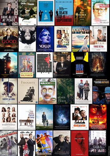 (k) The 36 movies I saw in 2019 :)