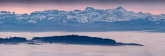 Island in the Sky... (thepotsdamer) Tags: bodensee lakeconstance alps mountains panorama