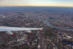 London from Above (Mark_Aviation) Tags: london from above beautiful views an early morning approach runway 27l heathrow photos taken onboard british airways a320 geuub ba1321 newcastle airbus ba baw shuttle landing ils rwy 27