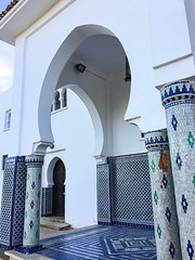 Blue City, Chefchaouene, Morocco, 摩洛哥 - the mosque (cattan2011) Tags: exploringthemorocco traveltuesday travelbloggers travelphotography travelphoto travel streetpicture streetphotography streetphoto streetart bui architecturephotography architecture landscapephotography landscape mosque 摩洛哥 chefchaouene morocco bluemorocco bluecity
