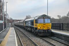 66789 6N61 (Normanton 55E) Tags: 66789 6n61 drax aes tyne coal terminal knottingley