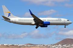 OY-JZI_01 (GH@BHD) Tags: oyjzi boeing 73783n jtg jettime arrecifeairport lanzarote 737 737800 738 b737 b738 ace gcrr arrecife aircraft aviation airliner