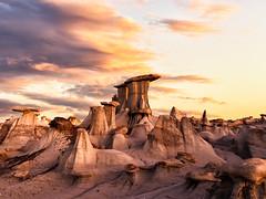 Badlands of New Mexico (Eric Zumstein) Tags: unitedstatesofamerica bisti badlands aoi bestcapturesaoi elitegalleryaoi
