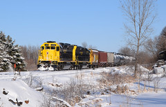 Ending 2019 with some flair (wc_sd45_7500) Tags: scxy saint croix valley railroad sd45 sd402 tr rush city train trains railroads northern pacific bnsf skally line freight winter snow shot