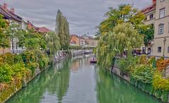 Ljubljana 20191009_124715 (JKIESECKER) Tags: rivers water ljubljana cityscenes cityscapes urbanlife urbanwaterways