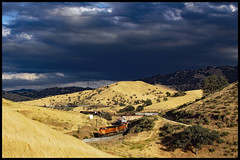 BNSF 4492 (golden_state_rails) Tags: bnsf up atsf sp tehachapi pass mojave subdivision bealville allard ca california mountains