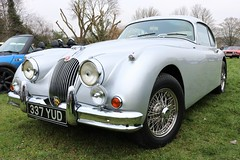 Jaguar XK150 (R.K.C. Photography) Tags: jaguar xk150 classic british car sportscar 1957 337yud barrington cambridgeshire england unitedkingdom uk canoneos750d