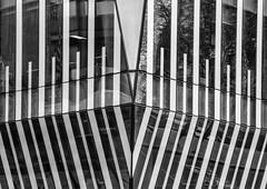 Stripes (Joseph Pearson Images) Tags: building architecture abstract london ubm allfordhallmonaghanmorris mono bw ahmm blackandwhite