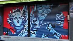 Kymo One / Volderstraat - 30 dec 2019 (Ferdinand 'Ferre' Feys) Tags: streetart belgium belgique belgië ghent gent gand artdelarue kymoone graffiti urbanart graff graffitiart arteurbano urbanarte ferdinandfeys bestofbe2019