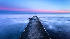 End of a Decade (Kurt Evensen) Tags: landscape winter nature leefilter le rockyshore weather vestfold cold norway longexposure tønsberg sky seascape sea shore water
