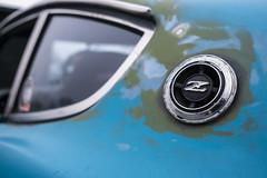 Rat Zed (GmanViz) Tags: gmanviz color sonya6000 car automobile vehicle detail datsun 240z badge letter logo roof window columbuscarscoffee