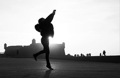 dreamfuel (Ana Carvalhais) Tags: porto bw blackwhite blackandwhite sunset people girl street mono light dreamfuel bwartaward