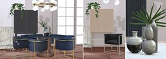 Loft & Aria @ Fameshed Jan 2020 (Colleen Desmoulins / Loft & Aria) Tags: second life mesh furniture dining room modern