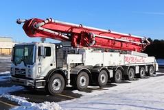 M C M Construction Inc. Truck (raserf) Tags: mcm construction inc mack putzmeister concrete cement pump pumper pumping sturtevant wisconsin racine county truck trucks