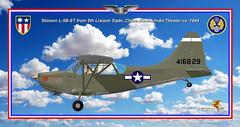L-5B-ST Okla Hawk publ (gaucho_59) Tags: ww2 warplanes profiles stinson l5 china burma theater