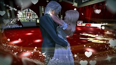 Dancing with my love (VelesNeverwinter) Tags: dance secondlife virtual phatcatz jazz new year celebrate willow veles