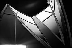 Pennovation Center (ADW44) Tags: cityofbrotherlylove universitycity universityofpennsylvania curves blackandwhite monochrome fineart philly philadelphia pennsylvania quakers angles architecture