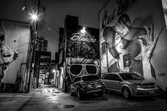 Art in the Alley (Neil Cornwall) Tags: 2019 canada december ontario windsor downtown night