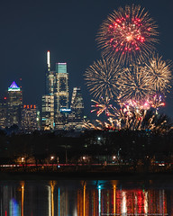 Wishing Everyone a Very Happy 2020! (mhoffman1) Tags: camdencounty collingswood cooperriver delawareriver nye newyearseve philadelphia philly sonyalpha celebration city fireworks skyline cityscape