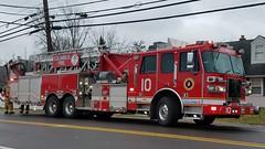 Ladder 10 (Central Ohio Emergency Response) Tags: columbus ohio division fire truck ladder tower sutphen platform