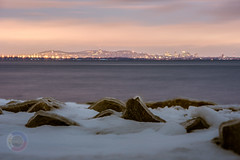 First photo for 2020 (-> LorenzMao <-) Tags: montreal montréal montrealdowntown nikond750 nikon nightphotography snow sigmalens winter lake clouds cityscape