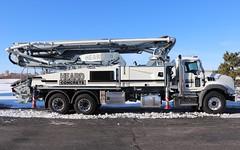 Heard Concrete Truck (raserf) Tags: heard concrete cement pump pumper pumping truck trucks mack putzmeister sturtevant wisconsin racine county chesapeake virginia
