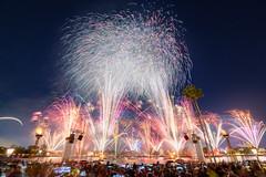 Epcot - Countdown 2019 (Jeff Krause Photography) Tags: 2019 celebration countdown crowd disney epcot epcotnye eve fireworks global lagoon lake nye new park promenade showcase wdw world years theme orlando florida unitedstatesofamerica