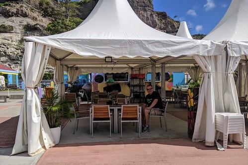 The Boardwalk Cafe, Oranjestad, Statia, Nov 2019