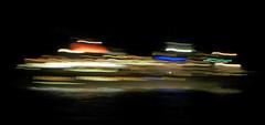 Conquering New Frontiers (TablinumCarlson) Tags: leica scotland ship colours northsea nordsee schiff farben schottland bewegungsunschärfe ocean water night meer wasser europa europe nacht availablelight motionblur dlux neueufer dlux6 conquernewfrontiers uk greatbritain unitedkingdom britain shipping schiffahrt britannien grosbritannien reflection reflexion spiegelung