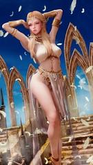 Priestess (Obducto) Tags: screenshot skyrim tesv elf girl