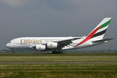A6-EUB Airbus A380-861 EHAM 18-05-19 (MarkP51) Tags: a6eub airbus a380861 a380 emiratesairlines ek uae amsterdam schiphol airport ams eham noordholland netherlands airliner aircraft airplane plane image markp51 nikon d7200 nikon24120f4vr sunshine sunny